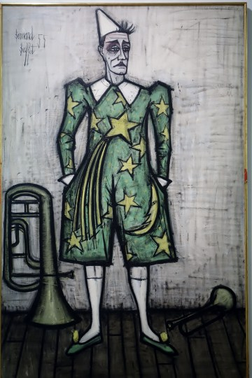retrospective-bernard-buffet-mam-paris-musee-clown